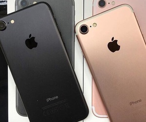 iphone, iphone 7, and black image