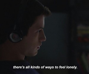 13 reasons why, clay jensen, and lonely image