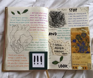 book, art, and journal image