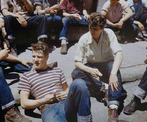 boy, vintage, and 50s image