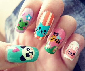 nails and animal image