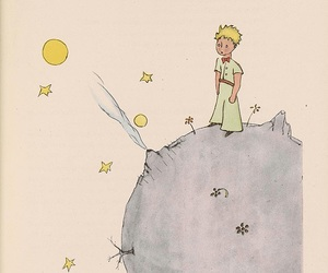 le petit prince, the little prince, and book image