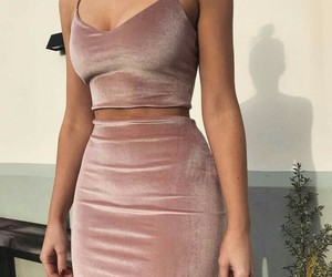 dress, girl, and party image
