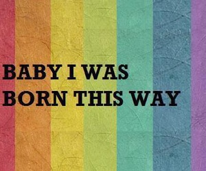 born this way, gay, and Lady gaga image