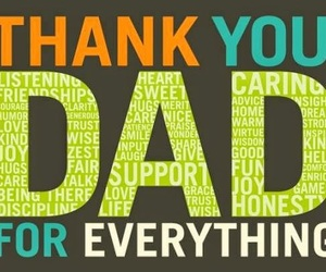 dad, thanks, and father'sday image