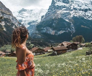 beauty, mountains, and travel image