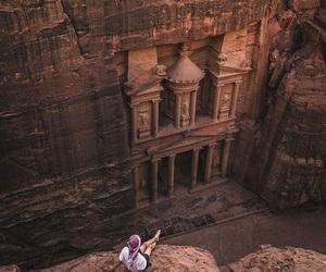 beauty, petra, and jordan image