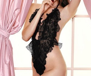 attractive, beauty, and lingerie image