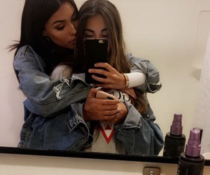 madison beer, claudia tihan, and friends image
