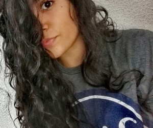 curly, hair, and newyork image