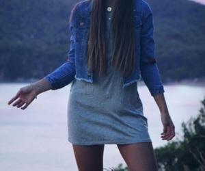 girl, moda, and skinny image