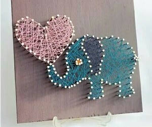 diy, love, and elephant image