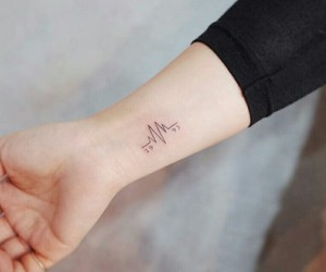 arm, tattoo, and date image