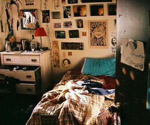 room, bedroom, and indie image