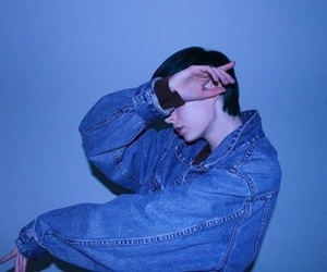 blue, aesthetic, and boy image