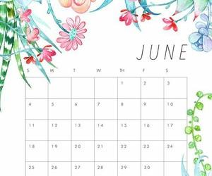 calendario, month, and junio image