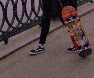vans and skate image