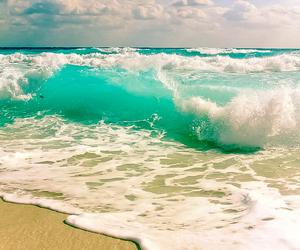 sea, beach, and waves image