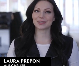 instyle, laura prepon, and orange is the new black image