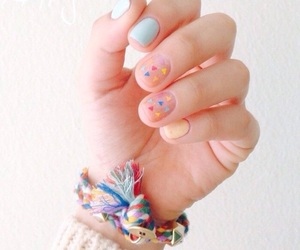 nail art, nails, and uñas image