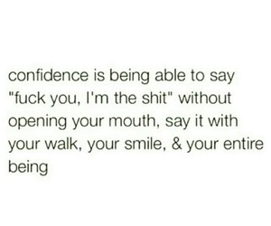 confidence and quote image