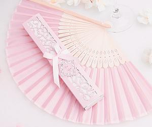 abanico, pink, and color image