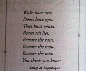 beasts, quotes, and love image