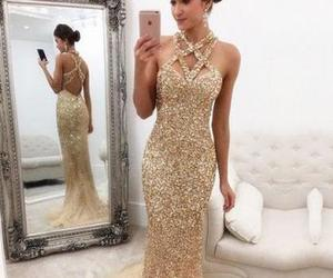 tulle prom dress, open back prom dresses, and mermaid prom dress image