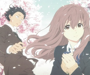 anime, koe no katachi, and friends image