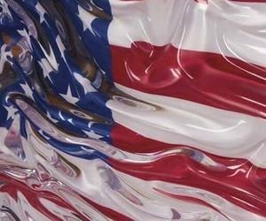 american flag, art, and usa image
