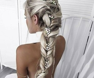 pretty, accessories, and hair image