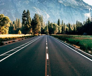 road, nature, and wallpaper image