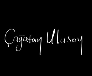 signature, cagatay ulusoy, and firma image