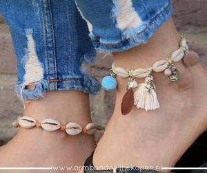 anklets, enkelbandjes, and enkel bracelets image