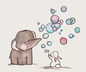 elephant, cute, and wallpaper image