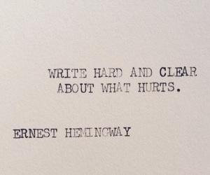 deep, hurt, and write image