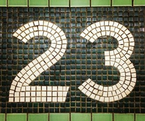 numbers, number 23, and numbers in nyc image