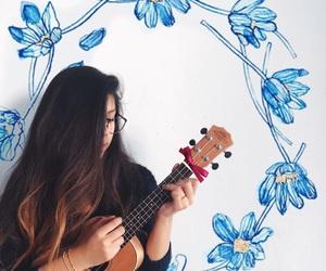 cardigan, goals, and ukulele image