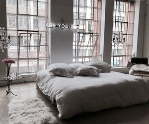 bed, cool, and decoracion image