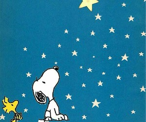snoopy, stars, and سنوبي image