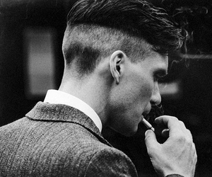 smoke, vintage, and peaky blinders image