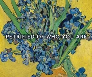 art, Lyrics, and painting image
