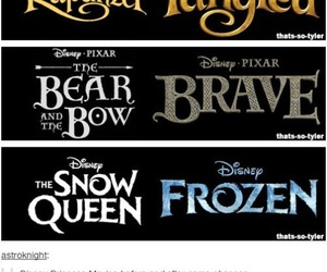 disney, tangled, and frozen image