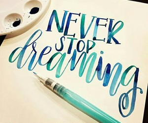 calligraphy and Dream image