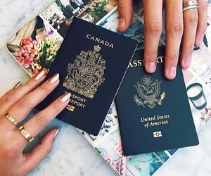 travel, laurdiy, and passport image