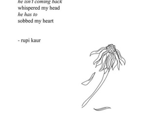 sad, heart break, and poem image