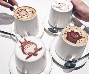 coffee, drink, and cute image