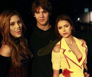 tvd, Nina Dobrev, and the vampire diaries image