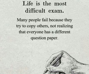 quotes, life, and exam image