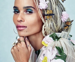 zoe kravitz, beauty, and actress image